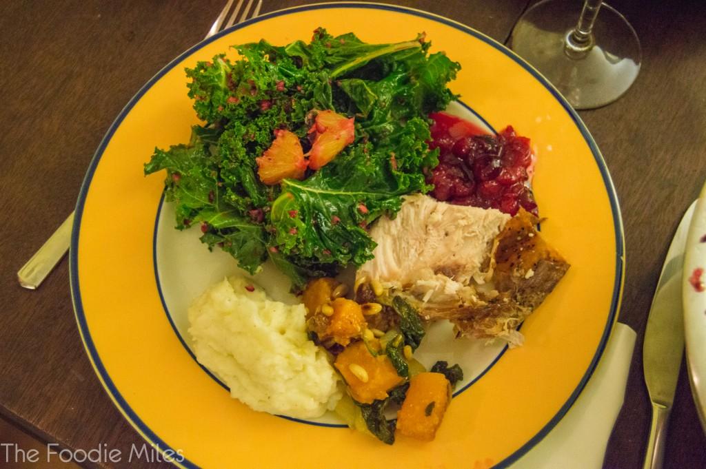 Thanksgiving dinner   thefoodiemiles.com
