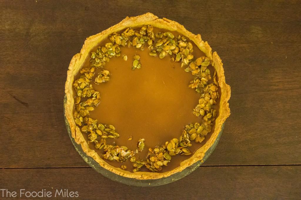 Pumpkin pie | thefoodiemiles.com