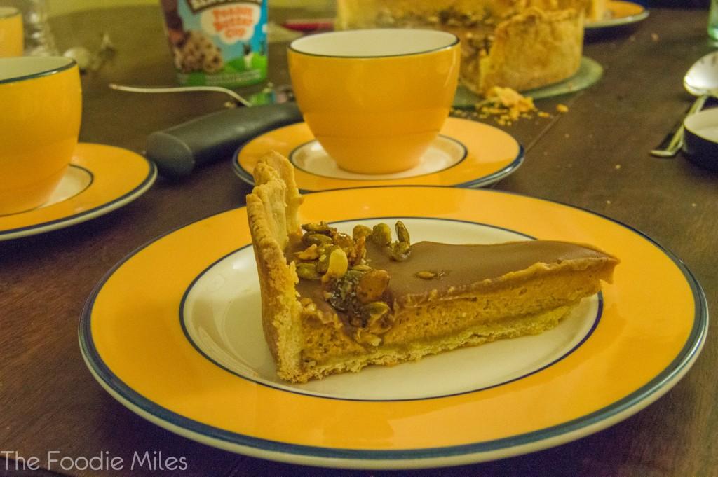 Pumpkin Caramel Pie | thefoodiemiles.com