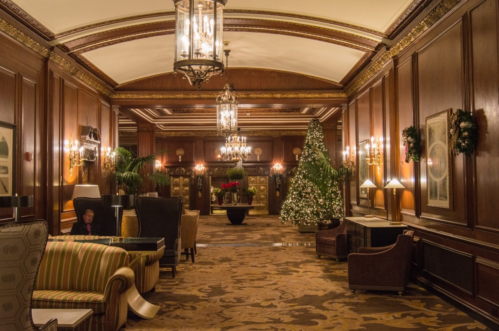 The Omni Parker House Lobby | thefoodiemiles.com