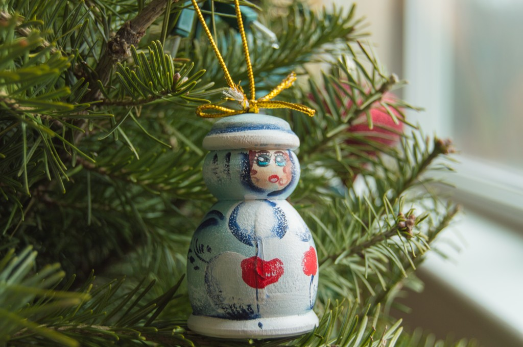 Russian Christmas tree decorations | thefoodiemiles.com