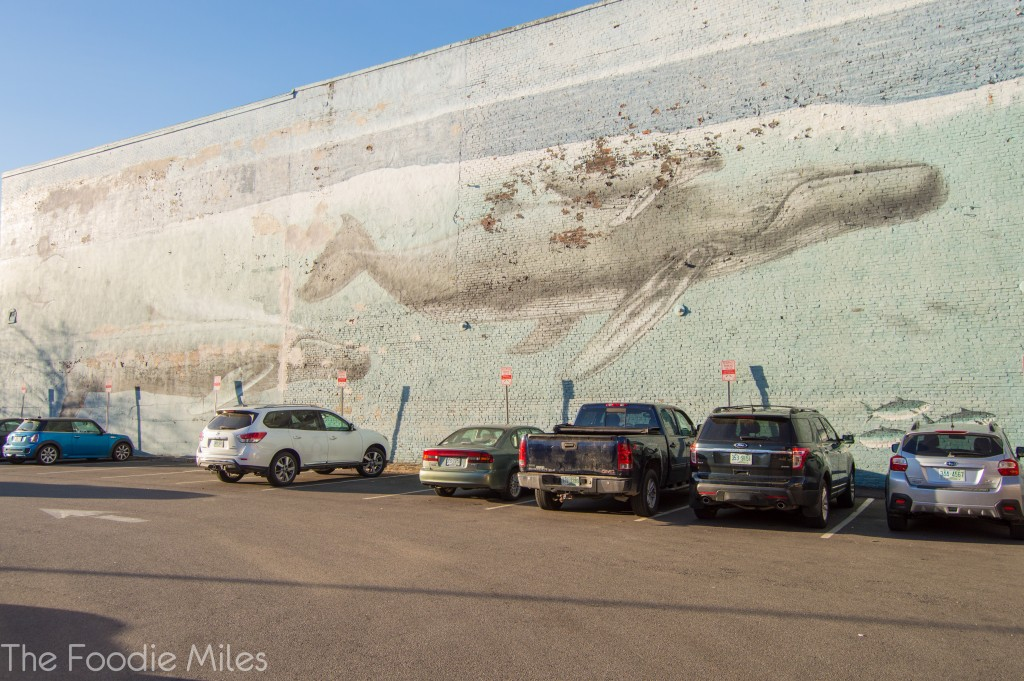 Whale Mural Portsmouth NH