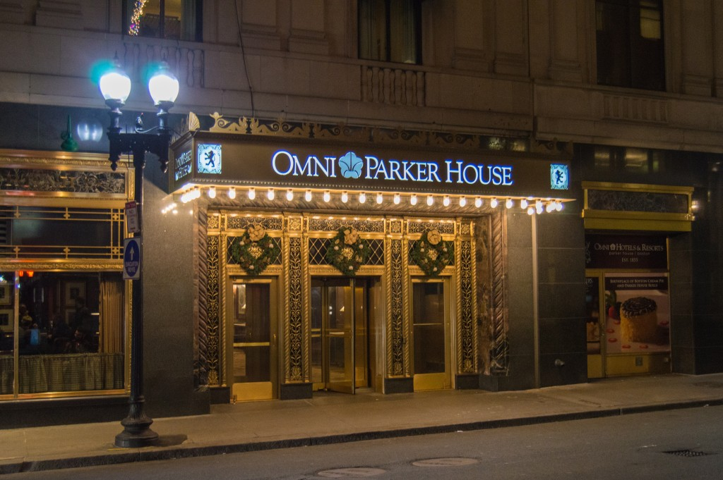 The Omni Parker House home of Boston cream pie