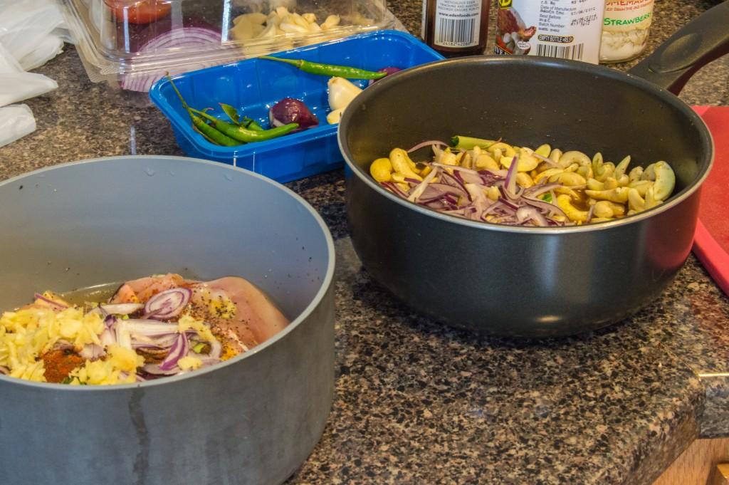 Preparing curry | thefoodiemiles.com