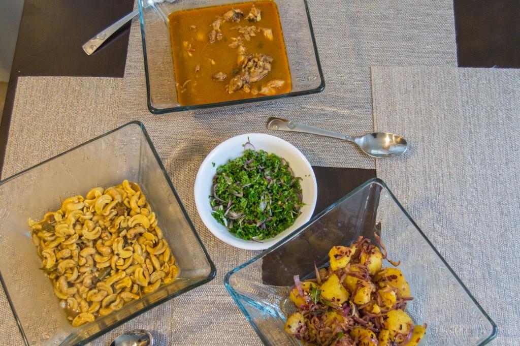 Sri Lankan lunch | thefoodiemiles.com