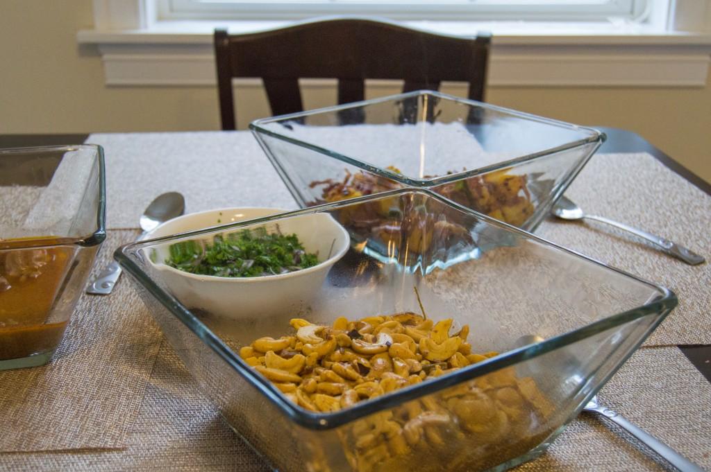 Traditional Sri Lankan lunch | thefoodiemiles.com