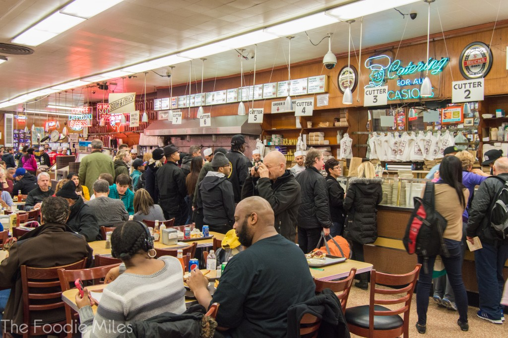 when harry met sally scene in katz deli