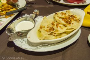 Potato vareniki | thefoodiemiles.com