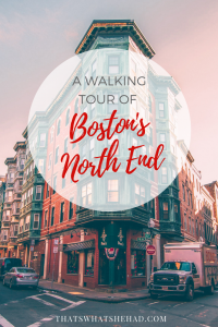 A walk around Boston's Little Italy, or as the locals call it, North End! #Boston #NorthEnd #BostonLittleItaly