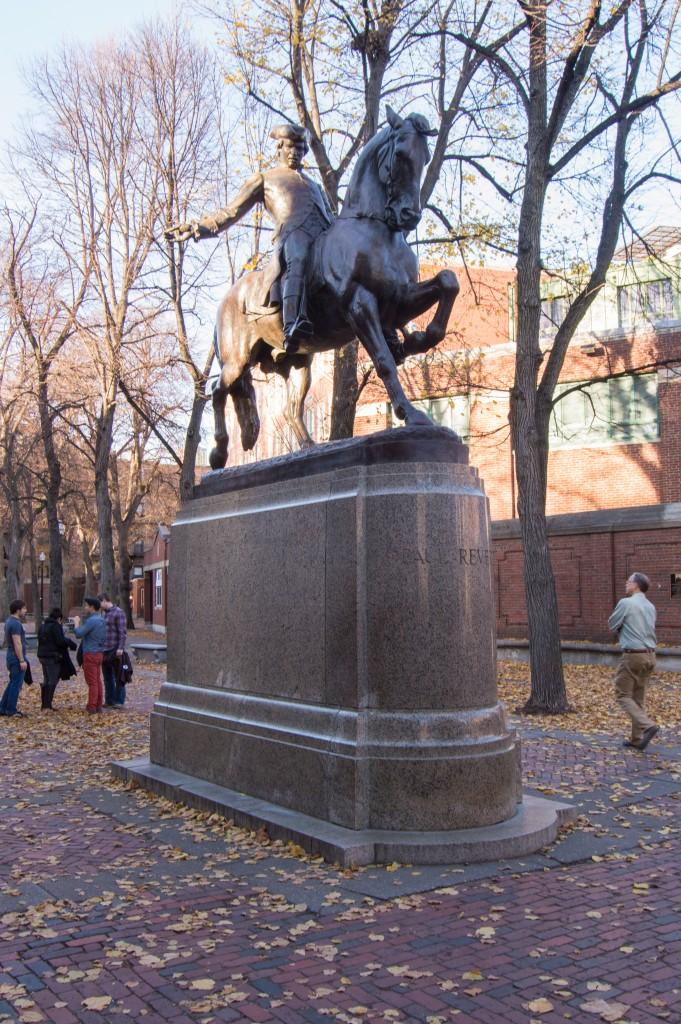Paul Revere statue | thefoodiemiles.com