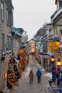 Petit Champlain district Quebec