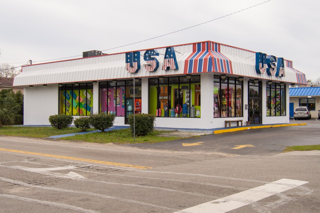 Beach wear store