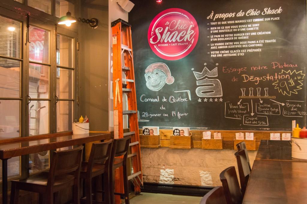 Le chic shack Quebec Canada