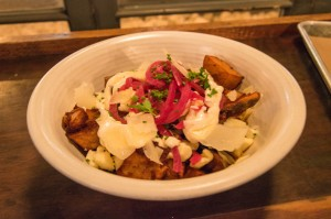 Le Chic Shack Poutine with beef
