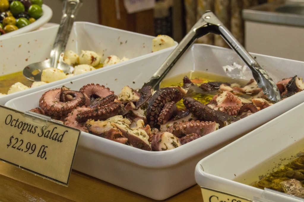 Octopus salad | thefoodiemiles.com