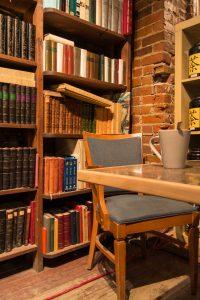 Book shop on St Jean Quebec