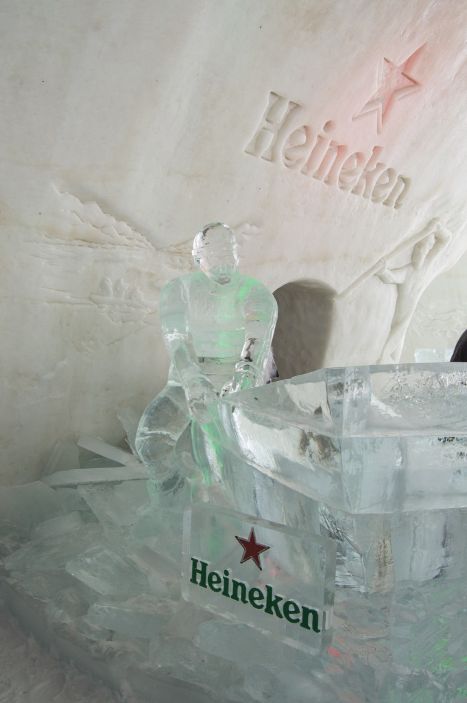Heineken ice bar