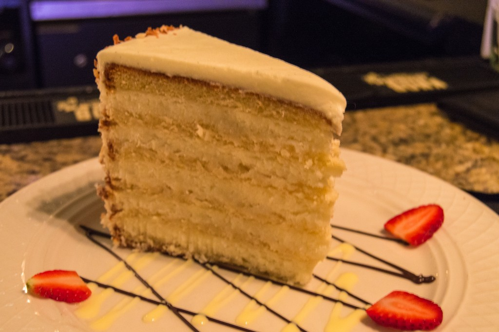 The ultimate coconut cake in Charleston