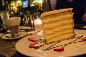 The Ultimate coconut cake in Peninsula Grill