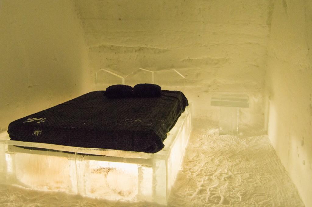 Standard room Ice Hotel Quebec