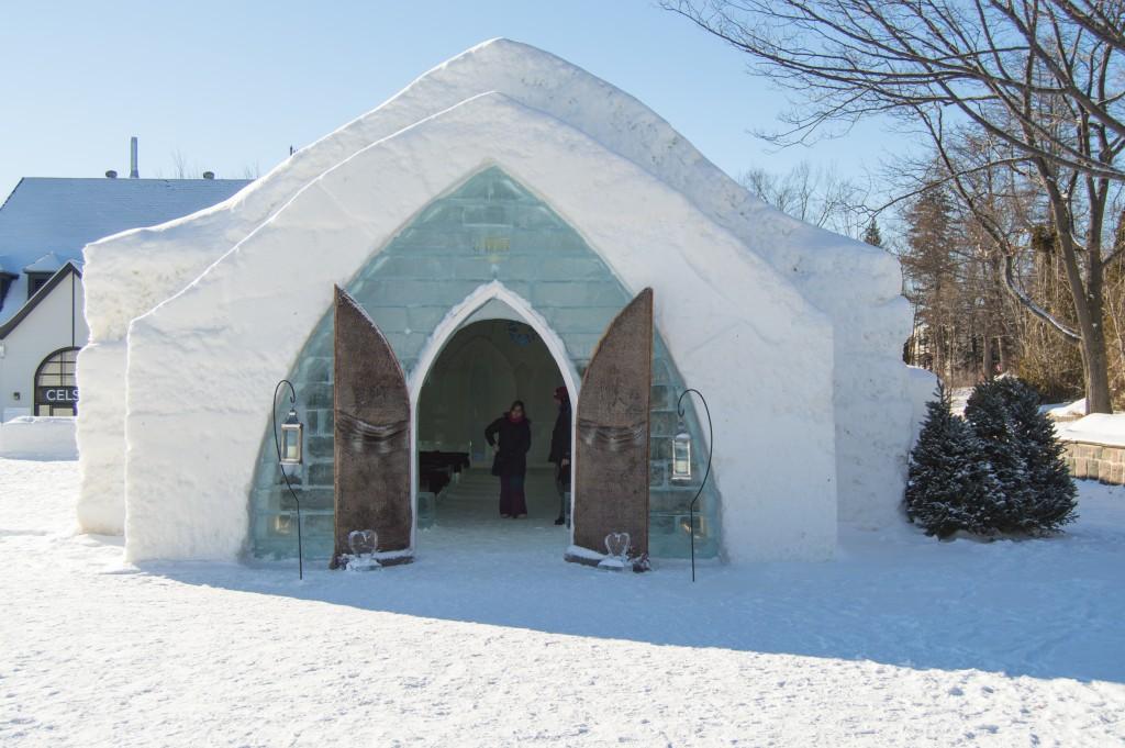 Chapel Ice Hotel Quebec