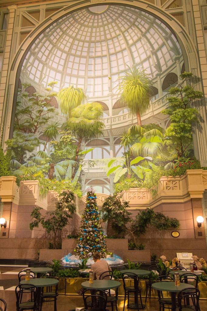 The atrium on Merrimack street