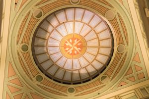 101 Merrimac Street ceiling | thefoodiemiles.com