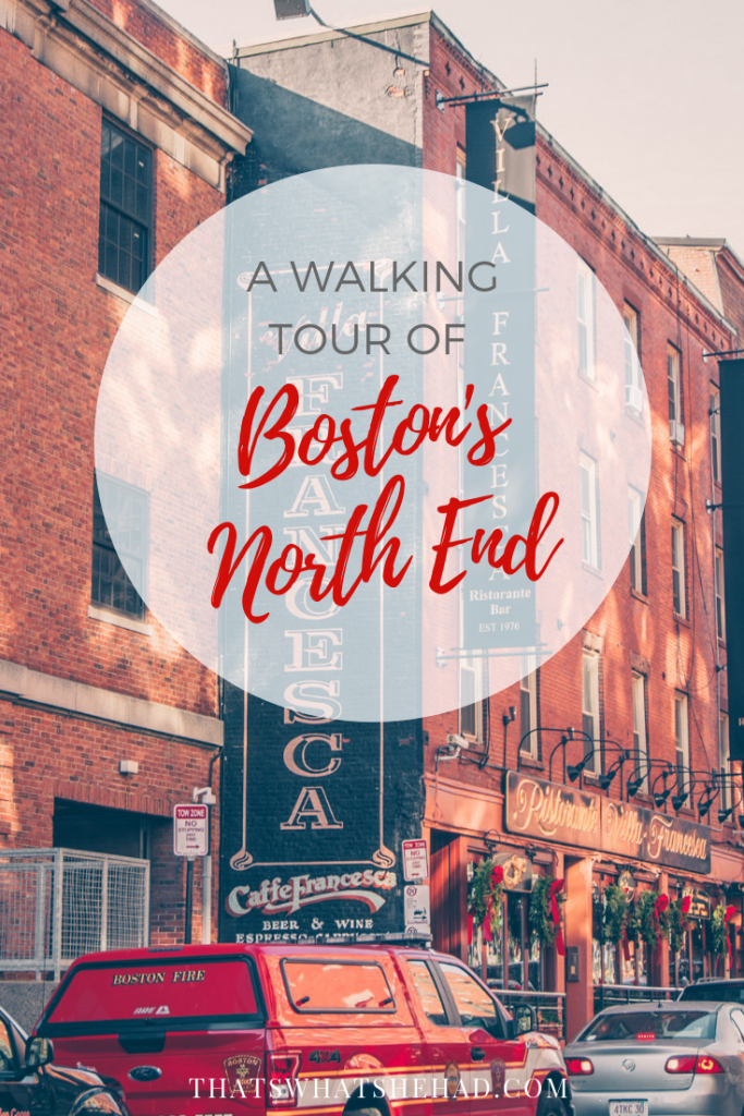 Walk around Boston's North End, the smallest neighborhood of the city! #Boston #NorthEnd #LittleItaly