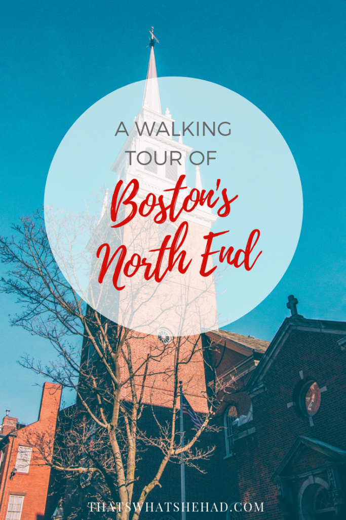 Explore Boston's North End (Little Italy) with its many shops and restaurants! #Boston #NorthEnd #LittleItaly