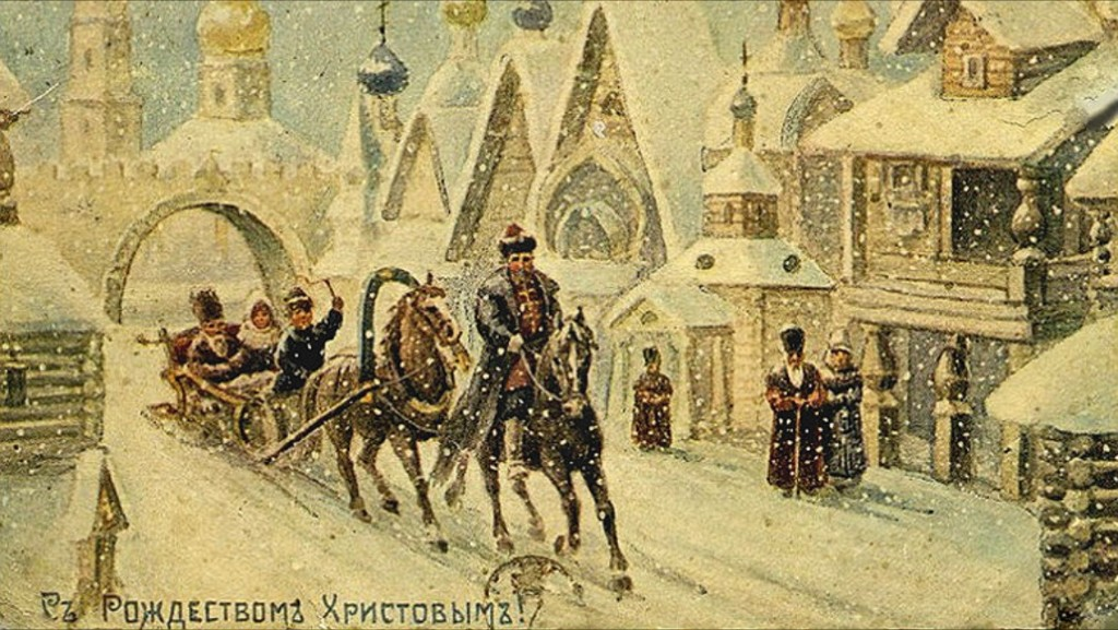 Orthodox Christmas in Russia 2 weeks later