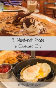 3 must eat foods in Quebec city