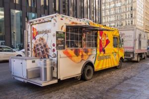 Gaufrabec food truck