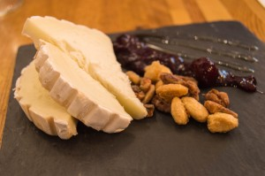 Goat cheese at Le Lapin Saute