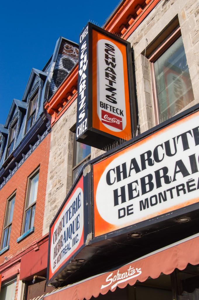 Schwartz's deli Montreal