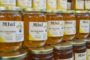 Honey at Jean Talon Market Montreal