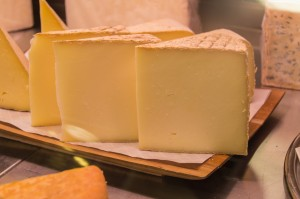 Cheese shop at Jean Talon Montreal