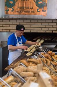 St-Viateur Bagels in Montreal Canada