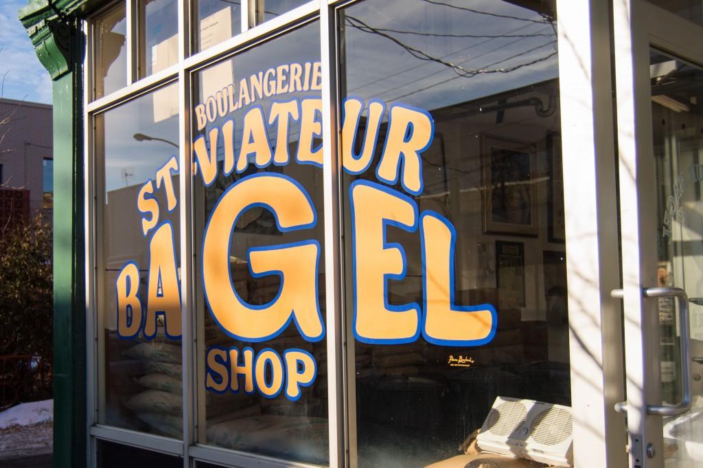 St-Viateur Bagel Shop outside