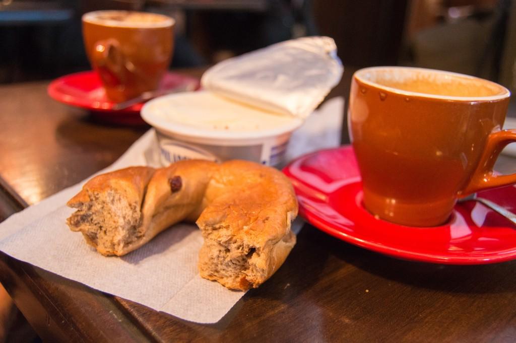 St-Viateur bagels and coffee