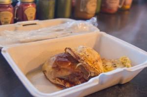 Chicken BBQ at Vermont Deli