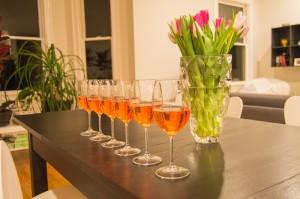 Aperol spritzer cocktail