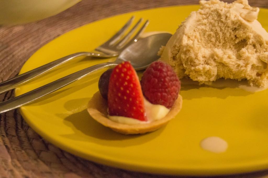 Italian dinner - dessert