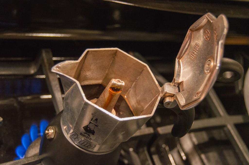 Making espresso at home
