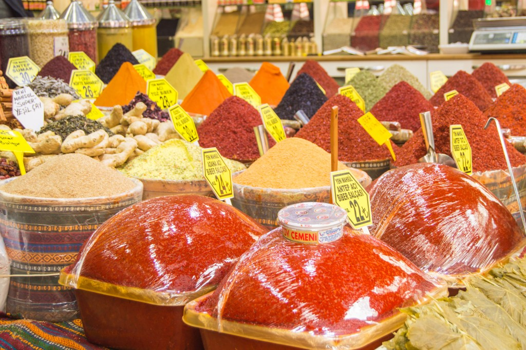 Where to buy spices in Istanbul