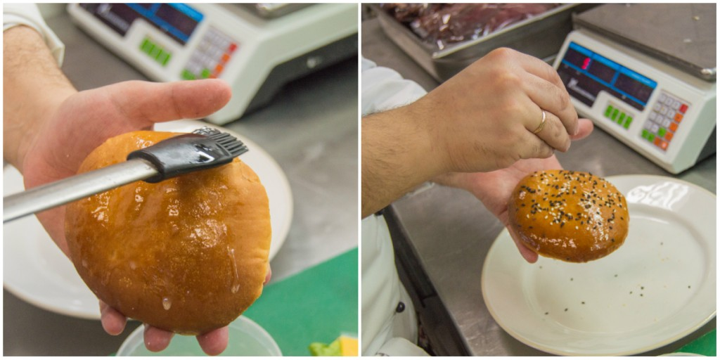 Making Ekaterinburger at Steak House