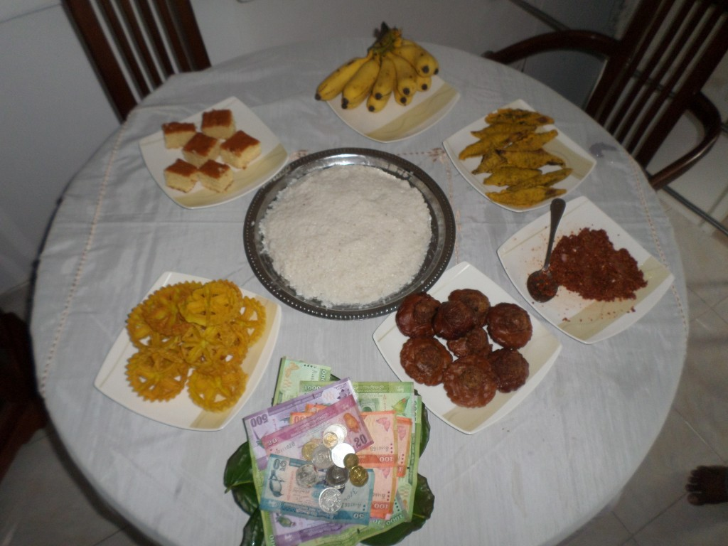 Sri Lankan New Year celebrations