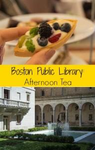 best afternoon tea boston