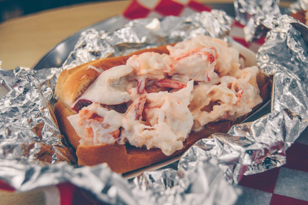 budget friendly Boston lobster roll