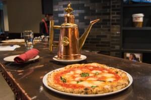 Pizza Margherita in Boston