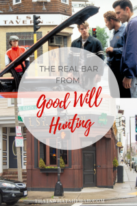 You can visit the real bar from Good Will Hunting while on a trip to Boston! Click on pin to read more about the bar or save for later! #Boston #BostonMA #BostonBars